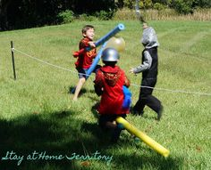 Stay at Home Territory: A Fourth Birthday Knight Party. Some great ideas in this one. I'm getting excited!