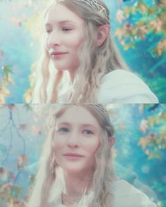I love her as Galadriel so much.