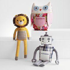 pieced plush toys