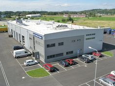 Scania Paskov, Czech Republic UltraPly TPO Mechanically Attached System (MEC) 1.764 m²