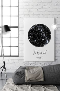 Custom Star Map - Night Sky Wall Art - Long Distance Relationship Gift, First Anniversary / Wedding Gift- Map Heart- One Year Anniversary- Map Heart Print, Distance Engagement Romantic Gifts For Wife, Wedding Gifts For Couples, Gift Wedding, 1st Anniversary Gifts, Boyfriend Anniversary Gifts, Paper Anniversary, Wedding Anniversary, Personalized Wall Art, Personalized Christmas Gifts