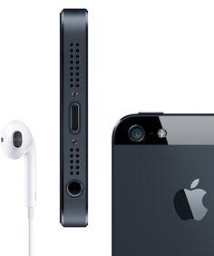 Apple - iPhone 5 - El más delgado, liviano y rápido hasta ahora.