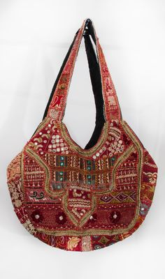 Beautiful HandmadeTribal Bag, Gypsy bag, Ethnic Boho, Banjara bag,Tote, Purse