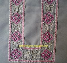 artisticfingers: Aari embroidery photo