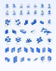 Isometric Ecommerce and Online Shopping — Illustrations on Flat Design Icons, Icon Design, Webpage Layout, 3d Icons, Isometric Design, Affinity Designer, Flat Illustration, Illustrations, Ui Elements