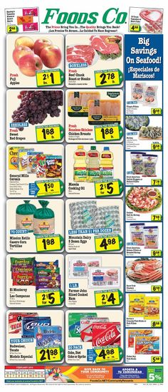 Foods Co 2/6 - 2/12 Weekly Deals & Coupon Matchups