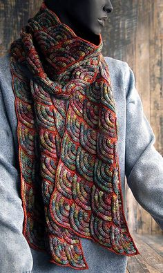 Jewel Dragon by Svetlana Gordon | malabrigo mechita in Arco Iris and Dried Orange