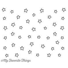 My Favorite Things STARS IN THE SKY VERTICAL Die-Namics MFT827