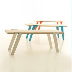 Switch Bench, houten bank van Rform | Markita.nl