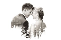 Double Exposure Wedding Photography | Agatha Rowland
