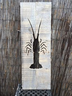 Florida Caribbean Spiny Lobster reverse Cutout by KeysWoodshop
