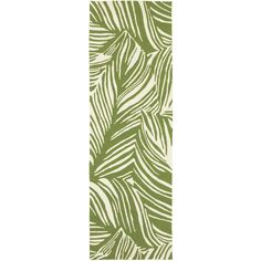 nice Tommy Bahama Atrium 2.6 X 8 Indoor/Outdoor Rug By Oriental Weavers - Green & Ivory