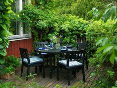 Trädgårdsidyll