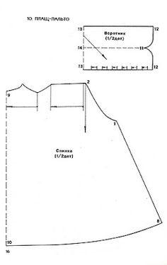 PASO A PASO CON JEANNINE: MOLDES ROPA DE MUÑECAS BARBIE - Coat pattern part 1