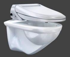 WC Der Extraklasse: Auf Knopfdruck Reinigt Ein Körperwarmer Duschstrahl Den  Po Berührungslos Sauber. Geberit
