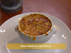 Sopa francesa de cebola - Foto de Pratos e Panelas