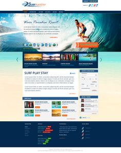 travel website specifically based for surfers to book trips