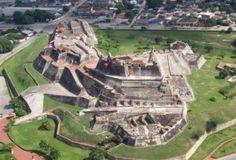 """""""Fort San Felipe de Barajas"""" in Cartagena, Columbia."""