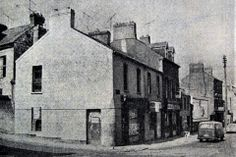 Seen here in 1974, this building at No.1 Douglas Street, on the corner of Summer Hill South was one of a number of buildings demolished the following year to remove the bad corner at that junction. Image from the Evening Echo. Cork City Ireland, Summer Hill, Old Photos, Buildings, Corner, Thoughts, Number, Street, Image
