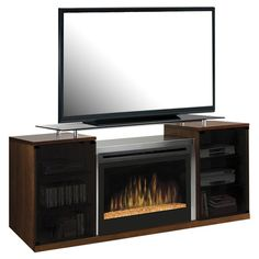 20 Cool TV Stand Designs for Your Home | Electric fireplaces, Tv ...