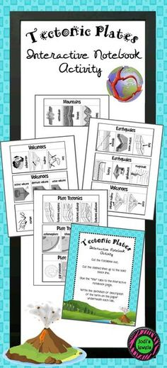 These interactive foldables are perfect for plate tectonic terms, descriptions and definitions. Students will create foldables about tectonic plates, boundaries, earthquake activity, volcanic activity, and mountain formation. Foldables can be used independently or as a unit. Ten separate foldables in all.