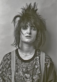 Siouxsie Sioux. Through the lens of Alex Waterhouse-Hayward.