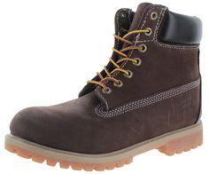 """Levis Jeans Harrison Men's 6"""" Nubuck Leather Boots"""