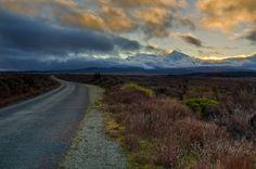 Rangipo Intake Road, New Zealand