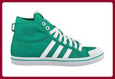 Adidas Originals Honey Stripes Mid Fresh Green Run White Sneaker US5/EU36 - Sneakers für frauen (*Partner-Link)