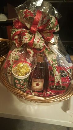 DB Bourbon Candy Gift Basket