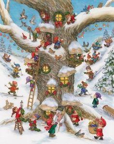 Elf-Magic-Advent-Calendar-Free-Shipping-Brand-New