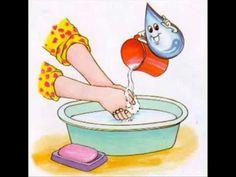 Canción para lavarse las manos Canciones Infantiles - YouTube