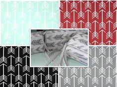 Baby Bedding Crib Bumper New Arrow Prints by ThePincushionStore, $25.50