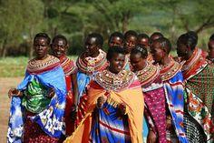 The Maasai: Anyone would love to wear those fabrics