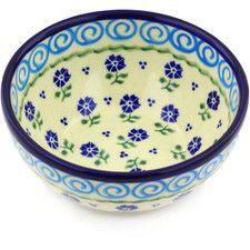 Polish Pottery 24 oz. Stoneware Bowl