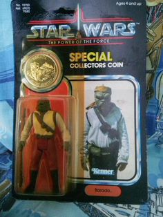 Star Wars Vintage Barada Action Figure by AlwaysPlanBVintage on Etsy