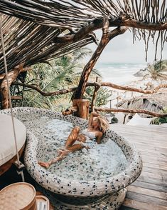 Monday vibes📍Tulum 👏 Tag your travel buddy! Oh The Places You'll Go, Places To Travel, Travel Destinations, Am Meer, Travel Goals, Travel Tips, Travel Ootd, Travel Packing, Travel Backpack