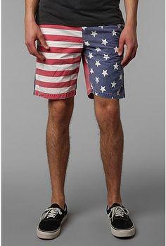 UrbanOutfitters.com > Tropicalia Americana Short