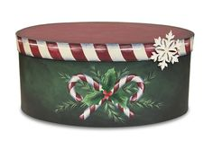 Candy Christmas Box Pattern Packet - Patricia Rawlinson – Tole and Decorative Painting Online Store