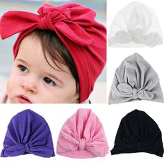 Lovely Baby Boy Girl Infantborn Winter Warm Beanie Cotton Cap Turban Hat  Be. Rita · baby hair accessories 0bb11e70e3cd