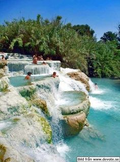MINERAL BATHS, TUSCANY ITALY Next time I am in Italy I will have to find these.Has anyone been here?