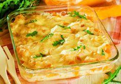 Budincă de cartofi cu dovleac - ieftină, gustoasă, rapidă și nu te ține mult în picioare. Dintr-o tavă întreagă hrănești întreaga familie, fără efort! Dinner On A Budget, Butter, Flan, Cheeseburger Chowder, Lasagna, Macaroni And Cheese, Panna Cotta, Biscuits, Soup