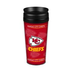 Kansas City Chiefs 14oz. Full Wrap Travel Mug