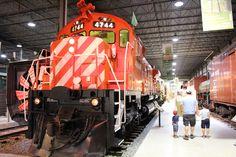 CP 4744 #exporail #musée #museum #trains #railway #railroad #locomotive #Quebecoriginal #Montreal #Monteregie