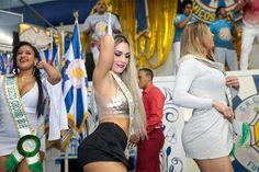 Musas do Brasil caem no samba com looks ousados | Ofuxico