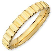 Enchanting Silver Stackable Gold Ring Band. Sizes 5-10 Available Jewelry Pot. $27.99. 100% Satisfaction Guarantee. Questions? Call 866-923-4446. Fabulous Promotions and Discounts!. Your item will be shipped the same or next weekday!. 30 Day Money Back Guarantee. All Genuine Diamonds, Gemstones, Materials, and Precious Metals. Save 64%!
