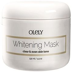 Skin Whitening Cream Mask - The Best Lightening Treatment for Face, Neck and Intimate Areas Such As Underarms (Armpit) and Bikini Line ★ Contains Safe Beauty Bleaching Products Such As Niacinamide, Kaolin Clay and Vitamin C That Lighten Facial Scars, Blemishes and Natural Dark Age Spots on Both Men and Women ★ 100% Money Back Guarantee Olely http://www.amazon.com/dp/B00N1Z6OI8/ref=cm_sw_r_pi_dp_9Gujub1JS3AKM