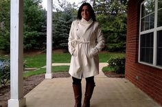 Marissa scored this Guess jacket for $99.99, compare at $200! #maxxinista #coat #fashion