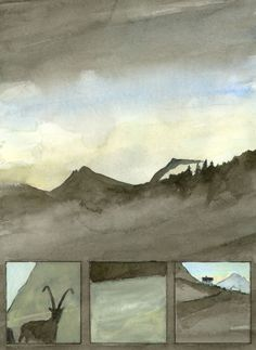 seehorn guggilihorn steinbock Painting, Art, Capricorn, Stones, Pictures, Art Background, Painting Art, Kunst, Paintings