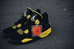"""Release Date: Air Jordan 4 Retro """"Thunder"""""""